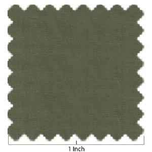 100% Lawn Cotton Olive Green Fabric