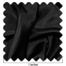 China Silk Black Fabric