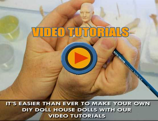 DIY Miniature Doll House Dolls