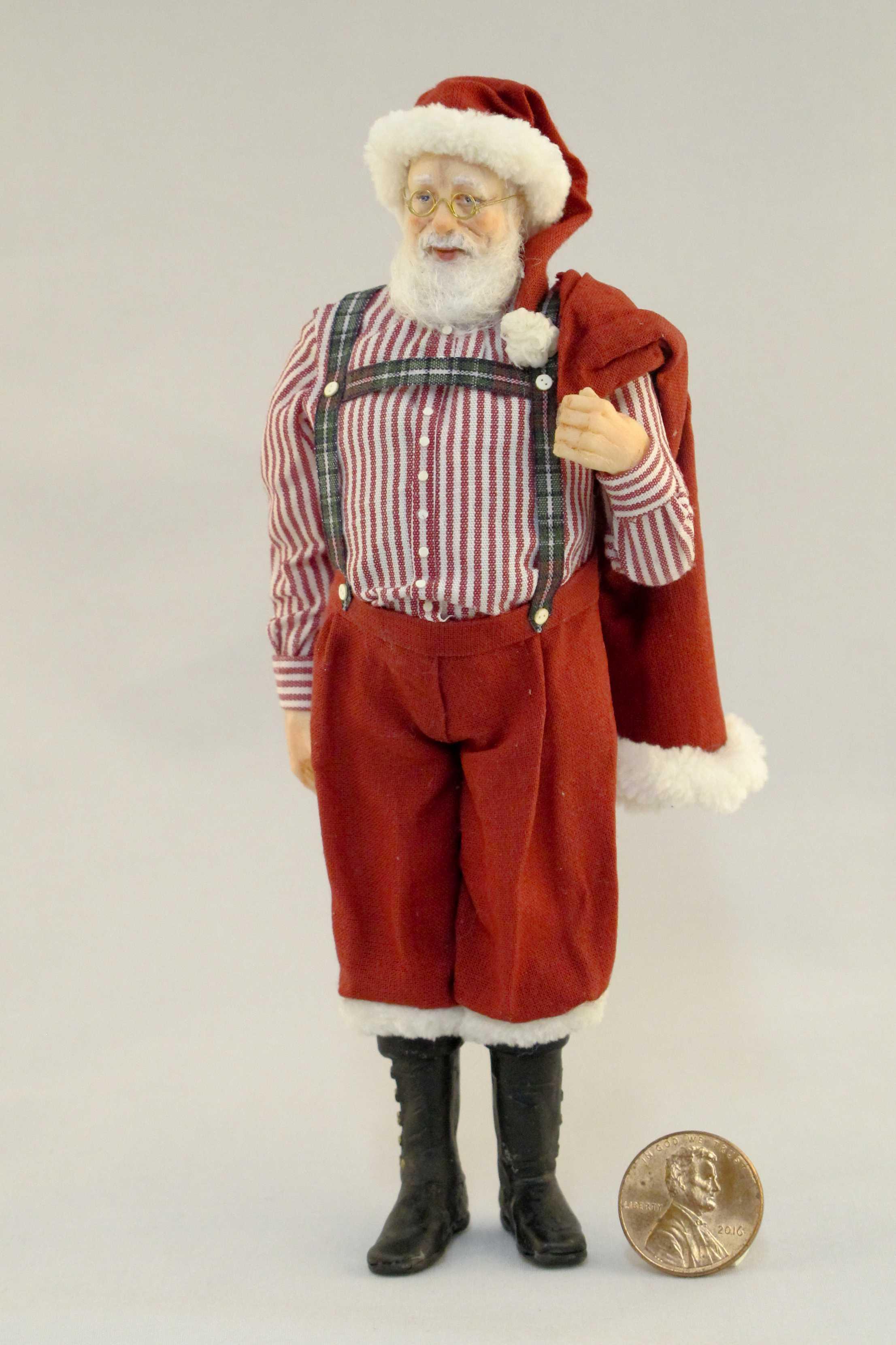 Santa in Suspenders